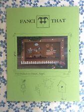 Fanci That Folk Art Back-to-Nature Angel No. 110 cross stitch pattern