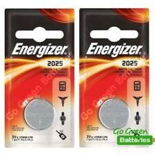 Piles boutons Energizer pour équipement audio et vidéo CR2025