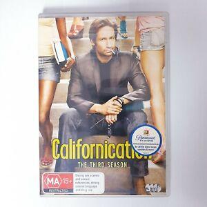 Californication Season 3 TV Series DVD Region 4 AUS - Comedy Drama