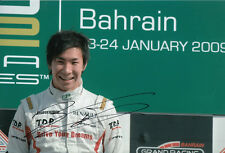 Kamui Kobayashi Hand Signed GP2 Podium Photo 12x8.