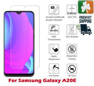 Premium Quality Tempered Glass Screen Protector Film For Samsung Galaxy A20E