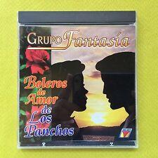 Boleros De Amor De Los Panchos Grupo Fantasia CD VELVET 1994