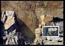 Liechtenstein 1994, 3 x Maximum cards, Minerals. MK 127. Mi. 1093 - 1095.