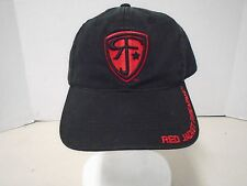 Red Jacket Firearms Red Black Hat Cap RJF Gear New Embroidered Baseball