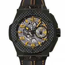 Hublot Ceramic Case Analog Wristwatches
