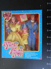 HEART FAMILY Surprise Party Set deluxe Famiglia Cuore Mattel Vintage BARBIE