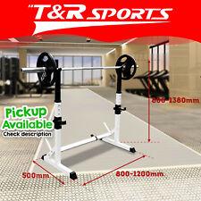 JMQ Fitness RBT3002 Squat Rack Sturdy Pair Standard Weight Fitness Lifting