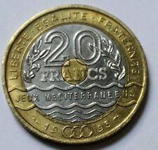 20 FRANCS JEUX MEDITERRANEEN 1993 SPL/FDC