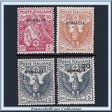 Colonie Italiane 1916 Somalia Croce Rossa Serie n. 19/22 Nuovi Integri ** []