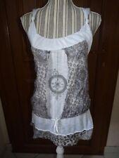 LA MODE EST A VOUS Haut tunique T3 38/40 blouse