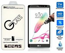 PREMIUM HD CLEAR TEMPERED GLASS SCREEN PROTECTOR FOR LG G4 Stylus LG G Stylo