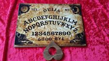 Classic Wooden Ouija Board Game Old London & Planchette Instructions Ghost
