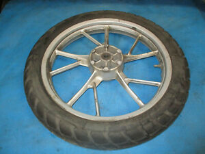 BMW F650GS F700GS K72 2007 - 2012 FRONT WHEEL WITH METZELER TYRE 110/80 19''