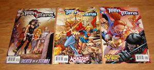 Dc Comic, TEEN TIATANS  #47 #48 #49 (NM/MT) Jul-Aug-Sept 2007