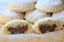 Date Filled Mamoul, Maamoul Date Cookies, Homemade Mamoul, Lebanese Sweets