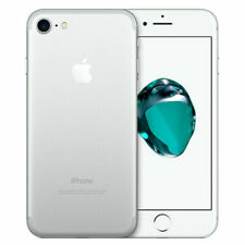 Apple iPhone 7- 32GB - Silver (Factory Unlocked) 4G LTE iOS (GSM) Smartphone