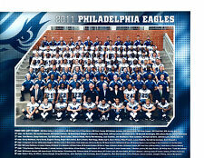 2011 PHILADELPHIA EAGLES TEAM 8X10  PHOTO  FOOTBALL NFL USA VICK