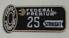 Federal Trap Skeet 25 Straight Shooting Patch, set of 2