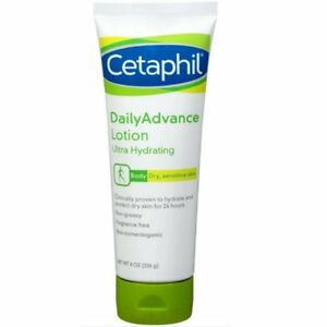 Cetaphil DailyAdvance Ultra Hydrating Lotion, 8 oz, Pack of 4