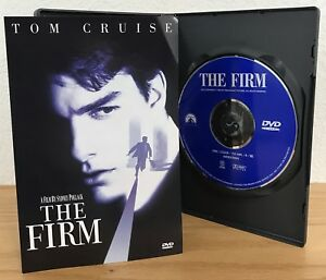 THE FIRM (DVD, 2000) w/SCENE SELECTION INSERT Region 1 LIKE NEW! SEE PICS!