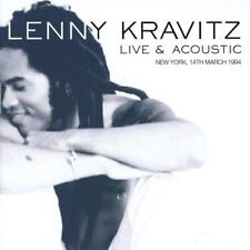 LENNY KRAVITZ - LIVE & ACOUSTIC NEW YORK, 14TH MARCH 1994 (NEW/SEALED) CD