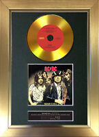GOLD DISC ACDC Highway To Hell Signed Reproduction Autograph Mounted Print 150