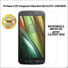 Tempered Glass for Moto E3 Power Premium Screen Guard Scratch Protector