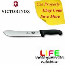 VICTORINOX Wide Tip Butchers Knife 31cm Black 5.7403.31 IS