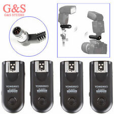4pcs Yongnuo RF-603 II Radio Wireless Remote Flash Trigger N1 for Nikon D800 D70