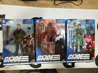 GI Joe Classified Series Flint, Lady Jaye, Red Ninja NIB with Fast Shipping!!!