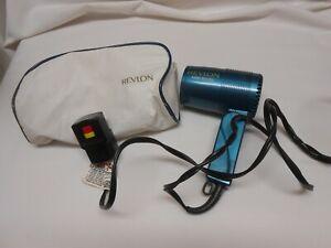 🔥Revlon portable Travel Hair Dryer w/ zipper case 1600 Watts Nice