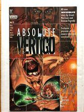 Absolute Vertigo #NN Preacher (Double Signed By Fegredo And Steve Dillon)
