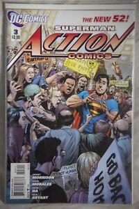 DC Comics Superman Action Comics (The New 52) Issue#3
