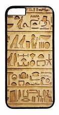 Ancient Egyptian Hieroglyphics Case iPhone 6 6+ 5S 5C 5 4S TPU Rubber/Hard Cover