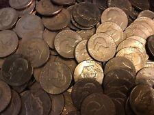 FREE COIN TUBE 10 BICENTENNIAL  EISENHOWER (IKE) DOLLARS  CIRCULATED