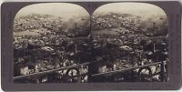 Panorama Da Costantinopoli Turchia Foto Stereo Stereoview Analogica Vintage