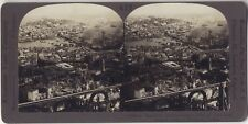 Panorama de Constantinople Turquie Photo Stereo Stereoview Argentique Vintage