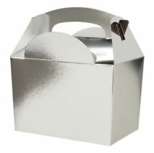 Contenitori senza marca argento per il pranzo