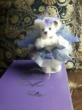 Annette Funicello Tiffany Mohair Bear! COA STAND #16 COLLECTIBLE!! Angel RARE