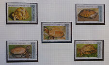 1996 TOGO TURTLES SET 5 USED STAMPS
