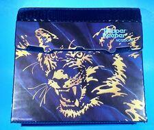 Vintage Mead Trapper Keeper Notebook 3 Ring Binder Tiger 29096 Purple Cat Retro
