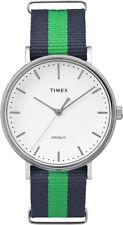 TW2P90800 Timex Weekender Fairfield Mens Watch White Dial Nylon StrapTW2P908009J
