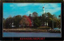 Kennebunkport Maine seacoat village Postcard