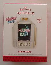 Hallmark 2013 Happy Days Juke Box Theme Song Magic Christmas Ornament