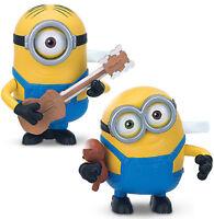 MINIONS Springfiguren Minion Stuart & Bob Figur + Zubehör + Fun Action WIND UP