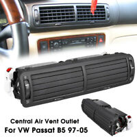 Front Dashboard Central Air Vent Outlet A/C Heater For VW Passat B5 1997-2005