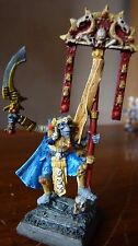 WARHAMMER FANTASY LIMITED EDITION TOMB KINGS ARMY STANDARD BEARER BSB PAINTED #