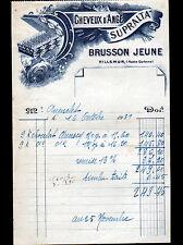 """VILLEMUR (31) USINE PATES ALIMENTAIRES Cheveux d'Ange """"SUPRALTA / BRUSSON"""" 1939"""