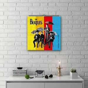 The Beatles 2022 Square Wall Calendar, Official Merchandise, Free P&P