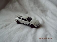MATTEL MADE IN THAILAND 2010 FORD MUSTANG GT WHITE